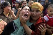 Uighur woman held in China's concentration camps says she was unknowingly sterilized in the camp, after examined by a U.S. doctor