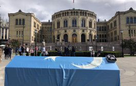 'Mock Funeral' held  in Oslo to raise awareness on China's ongoing atrocities against the Uighurs