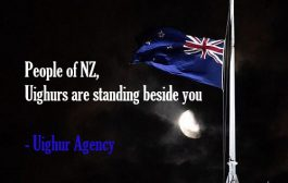 People of New Zealand, Uighurs are standing beside you